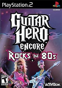 Guitar Hero Encore: Rock The 80s (PS2)-thumb