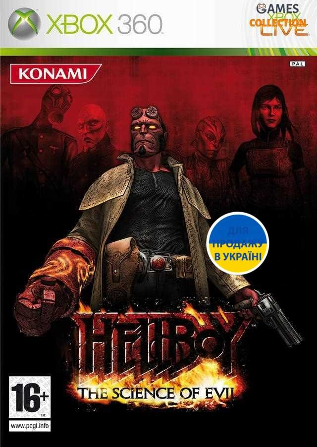 Hellboy: The Science of Evil (XBOX360)-thumb