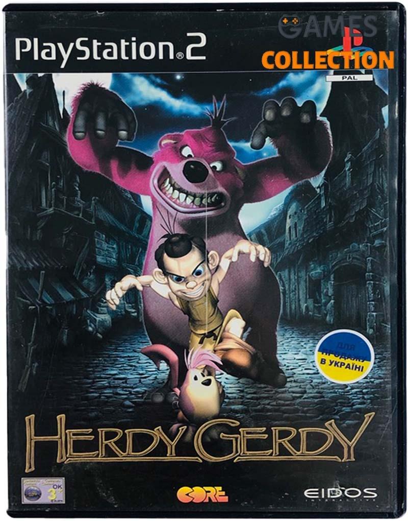 Herdy Gerdy (PS2) Б/У-thumb