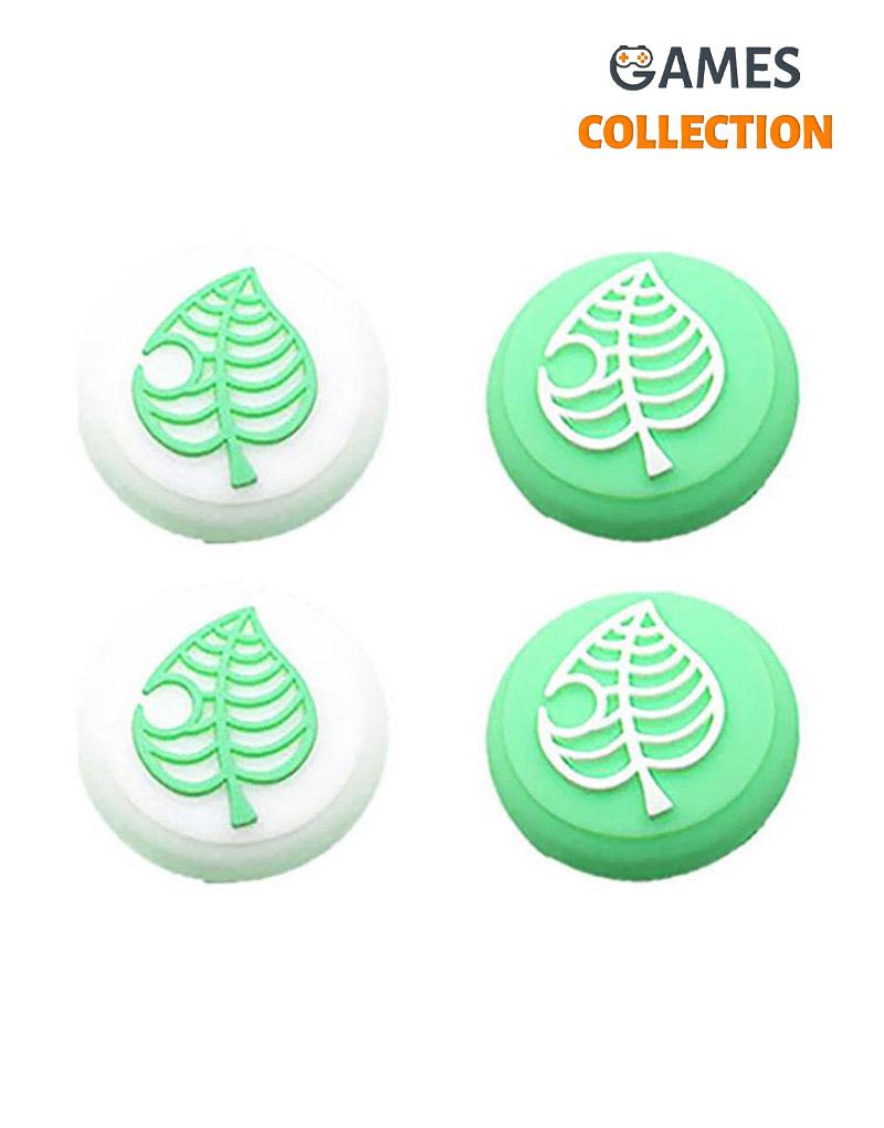 Защитный колпачок для Стиков Switch Lite Green Зеленый листик-thumb