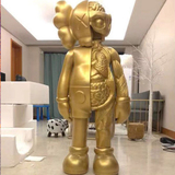 Kaws Flayed Companion Open Edition 130 см Золотой-thumb