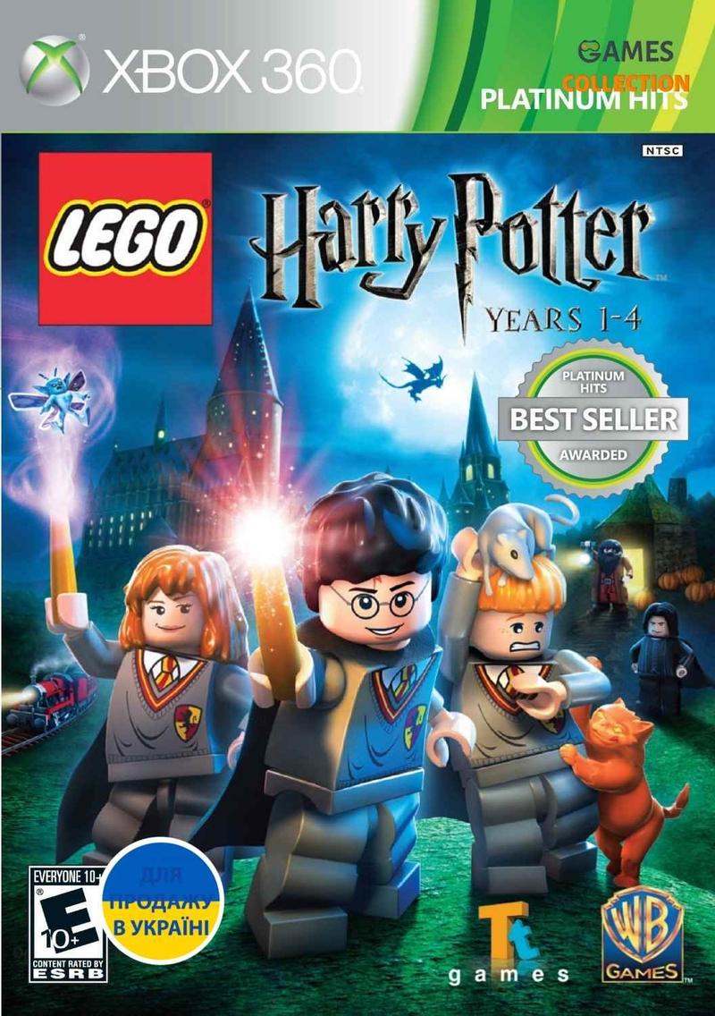 LEGO Harry Potter: Years 1-4 (XBOX360) Б/У-thumb