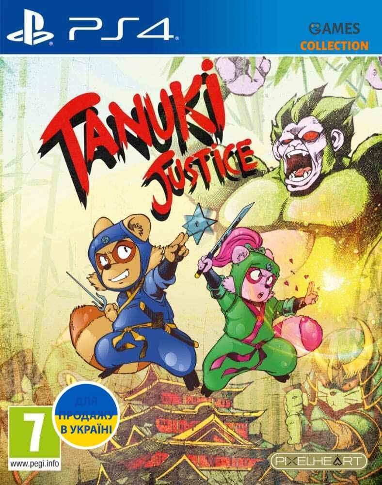 Tanuki Justice (PS4)-thumb