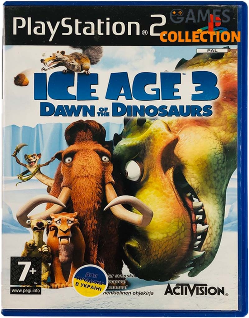 Ice Age Dawn of the Dinosaurs (PS2) Б/У-thumb