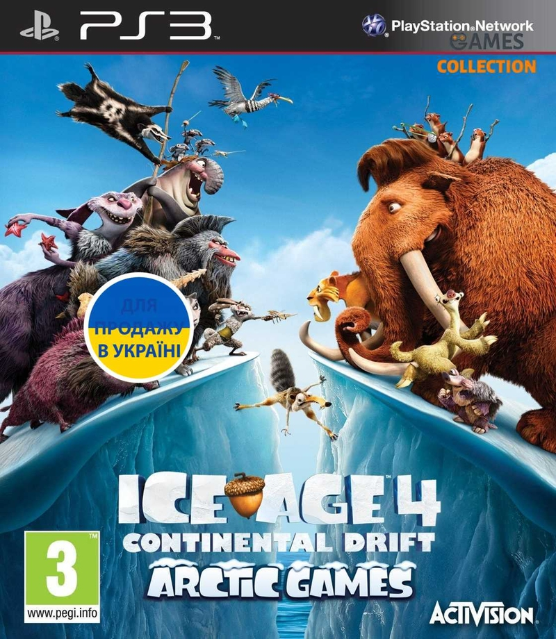 Ice Age 4: Continental Drift – Arctic Games (PS3) (RUS)-thumb