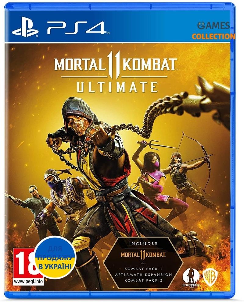 Mortal Kombat 11 Ultimate (PS4) (PS5)-thumb