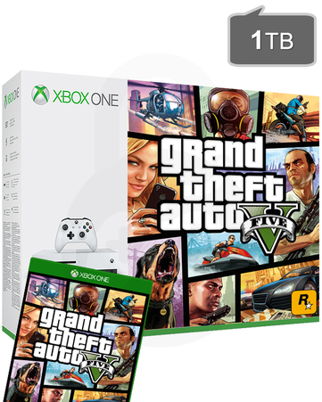 XBOX ONE 1TB S (GTA5)-thumb