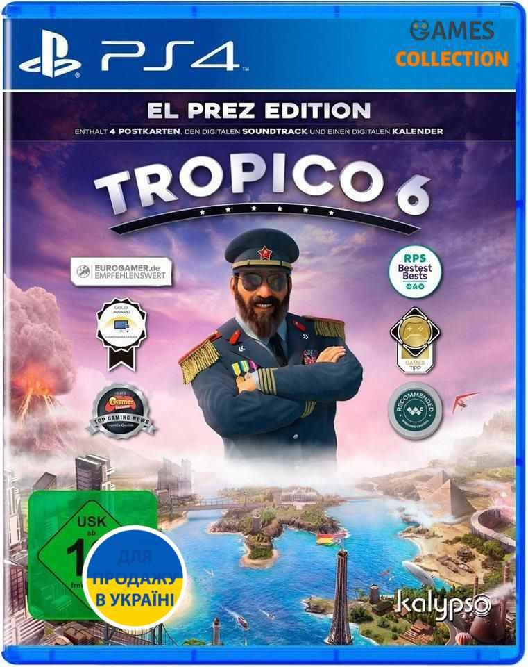 Tropico 6: EL PREZ EDITION (PS4)-thumb