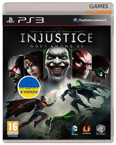 Injustice: Gods Among Us (PS3)-thumb