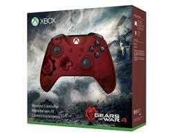 Беспроводной геймпад Xbox – Gears of War 4 Crimson Omen лимитированной серии-thumb