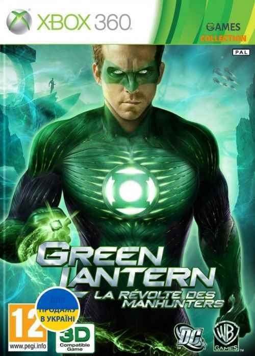Green Lantern: Rise of the Manhunters (XBOX360)-thumb