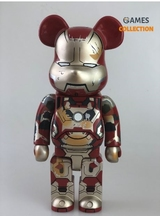 BEARBRICK IRON MAN MARK XLII (42) DAMAGE Ver. 400%-thumb