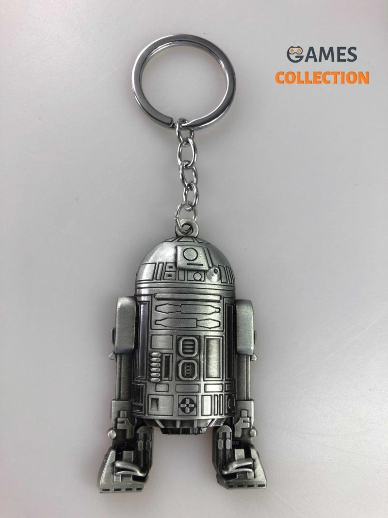 R2-D2 «Звёздные войны» Серебряный (Брелок)-thumb