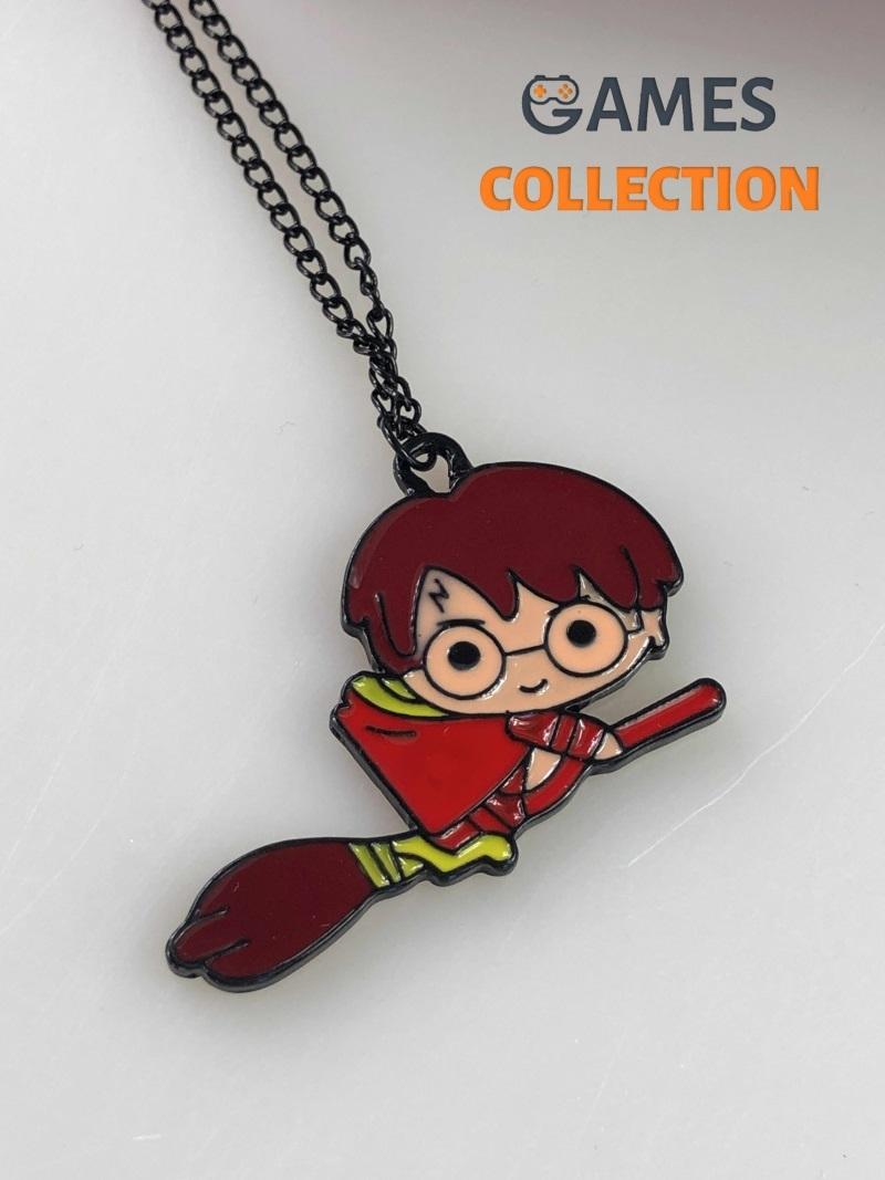 Гарри Поттер на метле (кулон с цепочкой)-thumb