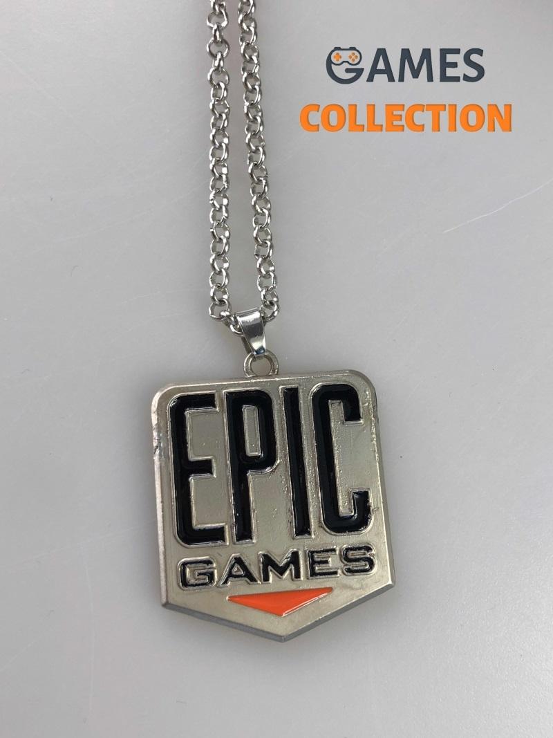 FORTNITE EPIC GAMES (кулон с цепочкой)-thumb