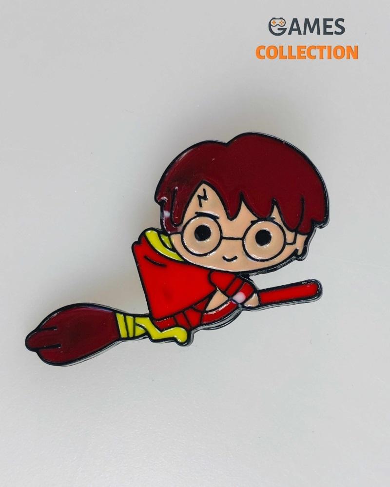 Гарри Поттер на метле (Брошь)-thumb