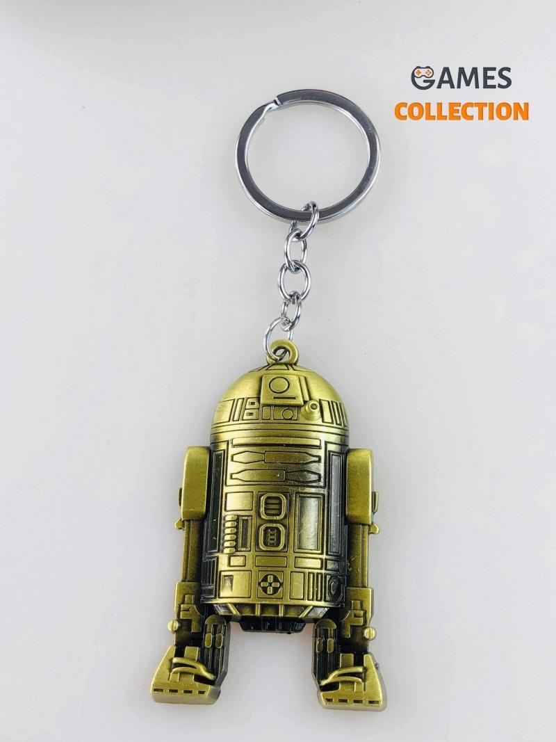 R2-D2 «Звёздные войны» золотой (Брелок)-thumb