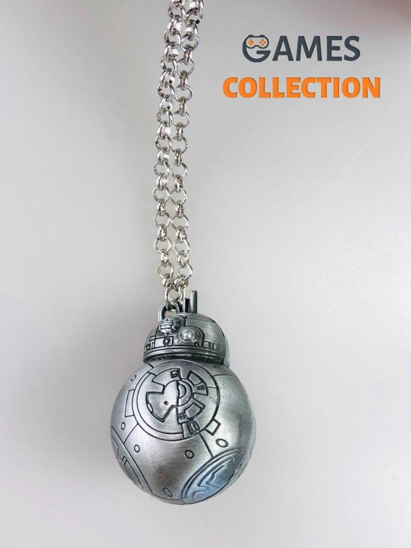 """BB-8 """"Звездные Войны"""" серебряный (кулон с цепочкой)-thumb"""