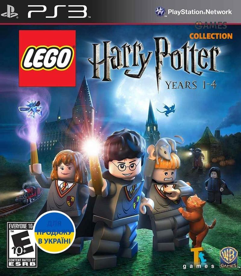 LEGO Harry Potter: Years 1-4 (PS3) Б/У-thumb