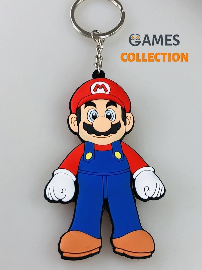 Super Mario ПВХ (Брелок)-thumb