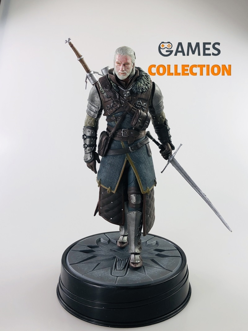 Witcher 3: Wild Hunt Geralt С Мечом (Фигурка)-thumb