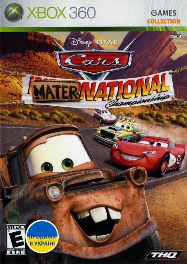 Cars: Mater National Championship (Xbox 360/Xbox One) Б/у-thumb