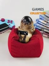Морской котик на подушке (фигурка)-thumb
