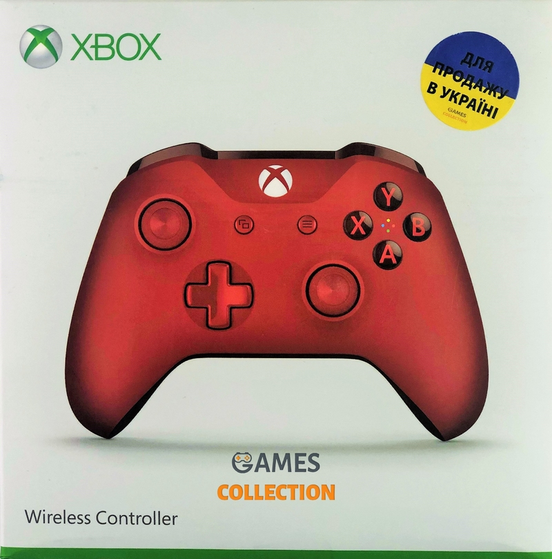 Xbox One Wireless Controller – Red-thumb