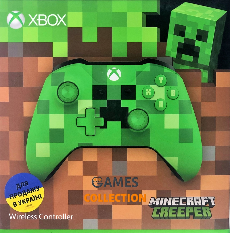 Xbox One Wireless Controller – Minecraft Creeper-thumb