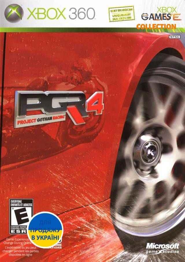 Project Gotham Racing 4 (XBOX360) Б/У-thumb
