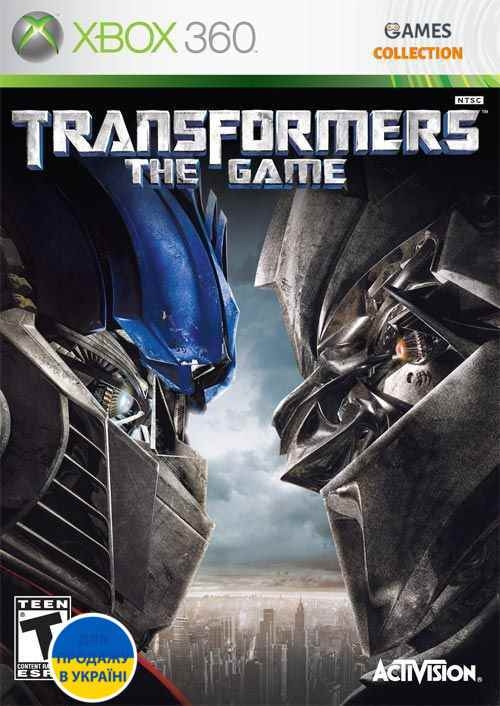 Transformers: The Game (XBOX360) Б/у-thumb