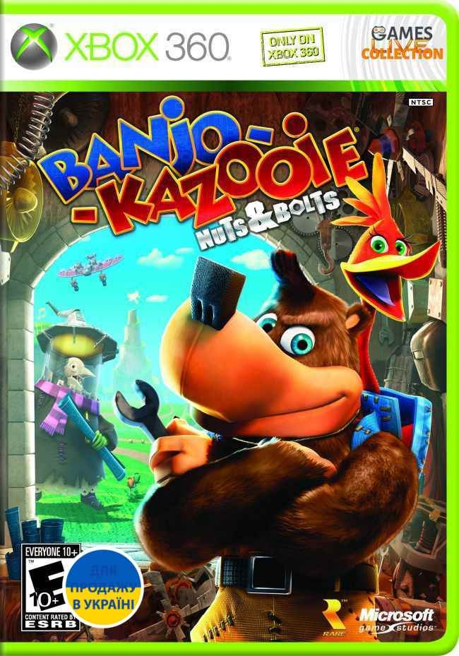 Banjo-Kazooie: Nuts & Bolts (XBOX360) Б/у-thumb