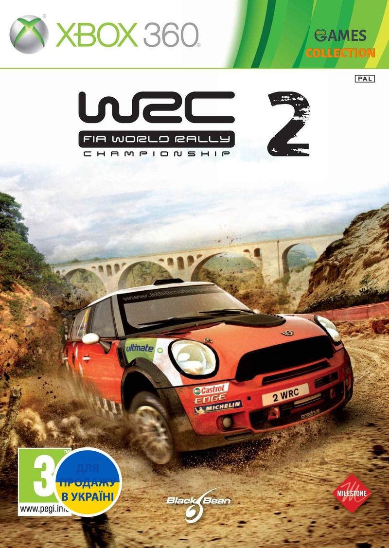 WRC 2: FIA World Rally Championship (XBOX360) Б/у-thumb