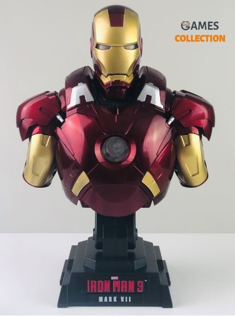 Iron Man 3 MARK 7 Бюст Электронный (Фигурка)-thumb