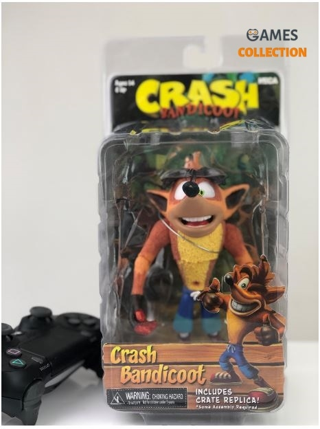 Crash Bandicoot (Фигурка 15 см) Neca-thumb
