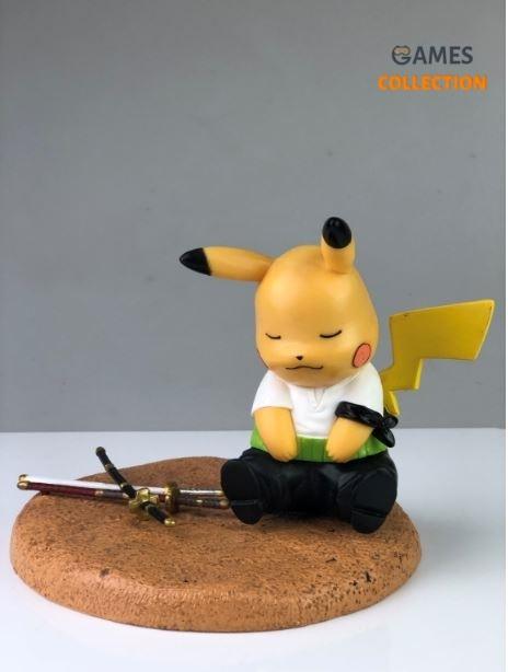 Pikachu Roronoa Zoro (Фигурка 12см)-thumb
