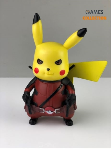 Deadpool Pikachu (Фигурка 13см)-thumb