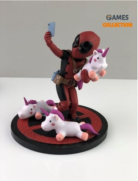 DeadPool Unicorn Selfie (Фигурка 13см)-thumb