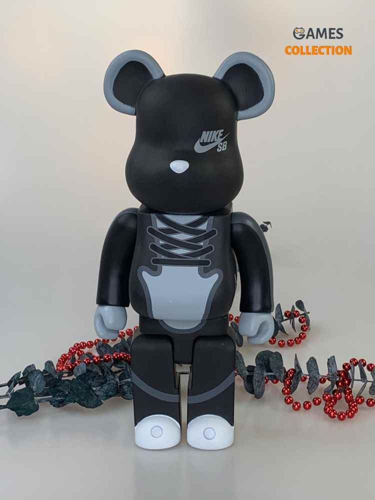 BEARBRICK NIKE SB BLACK 400%(28cm)-thumb