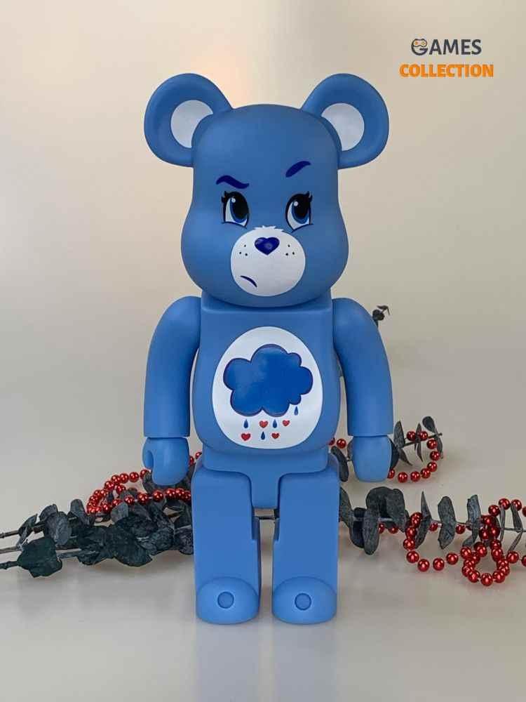 BEARBRICK Medicom Care Bears Grumpy 400%-thumb