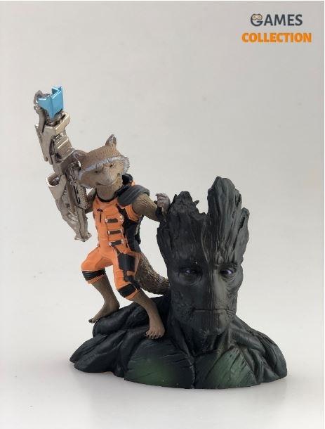 Guardians Galaxy Rocket Raccoon Groot (Фигурка)-thumb