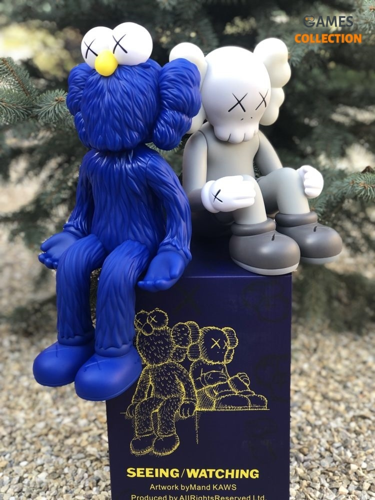 Kaws BFF Seeing_Watching Limited Edition Blue-thumb