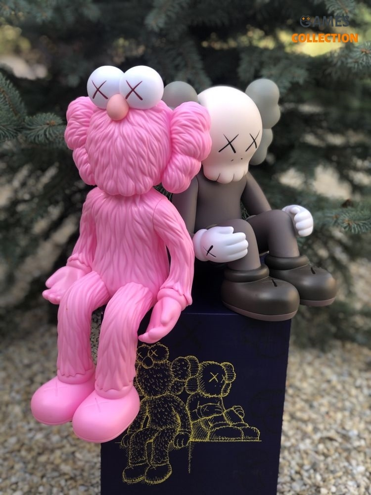 Kaws BFF Seeing_Watching Limited Edition Pink-thumb