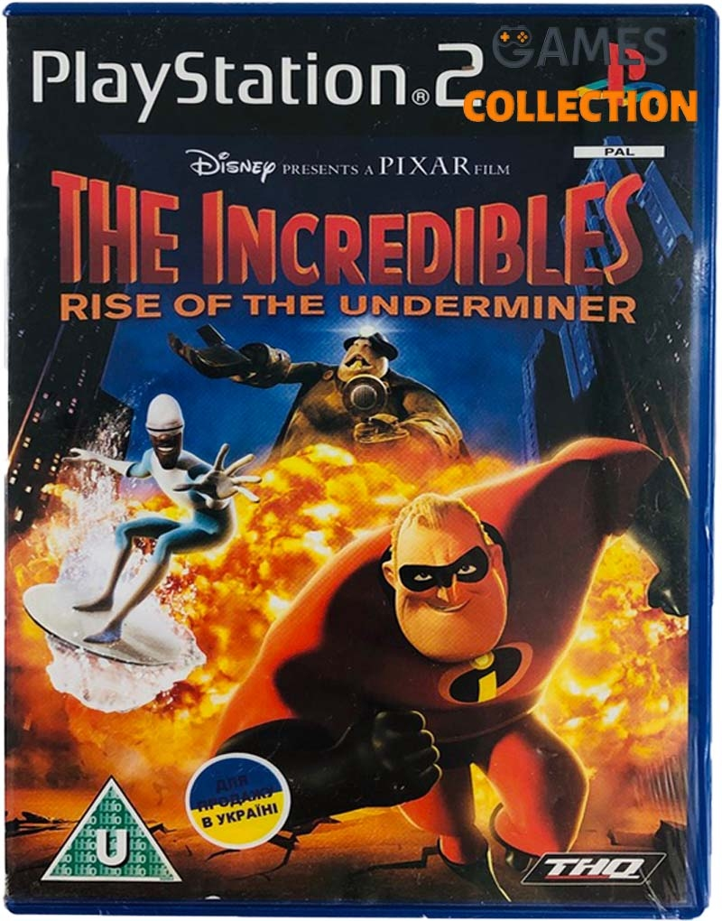 The Incredibles Rise of the Underminer (PS2) Б/У-thumb