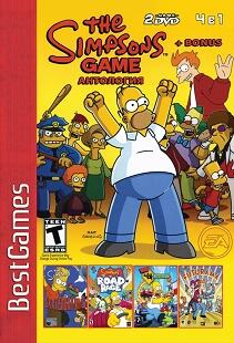 Сборник игр 4в1: Антология Simpsons+Bonus-thumb