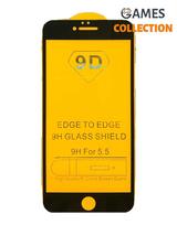 Защитное стекло для iPhone 6/6s plus (черный)-thumb