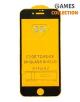 Защитное стекло для iPhone 7/8 (черный)-thumb