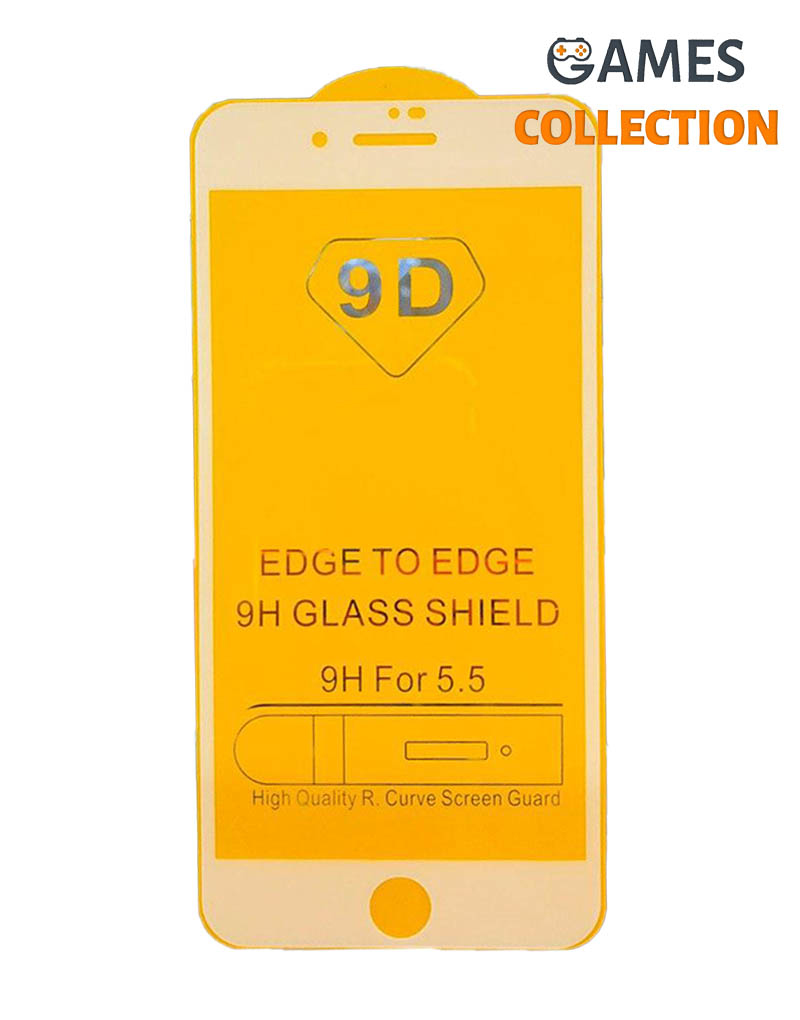 Защитное стекло для iPhone 7/8 plus (белый)-thumb