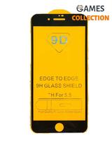 Защитное стекло для iPhone 7/8 plus (черный)-thumb