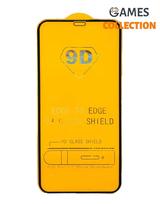 Защитное стекло для iPhone XR (Черный)-thumb